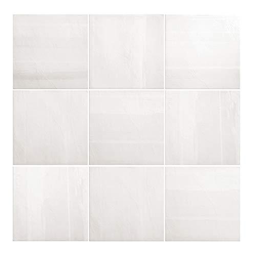 Nais Baldosas cerámicas para paredes Colección Habitat (20x20 cm) - Caja de 1 m2 (25 pzas), Cala Antique White