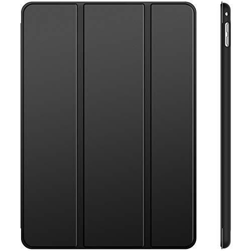 JETech Hülle Kompatibel iPad Mini 4, Schutzhülle mit Ständer Funktion & Auto Schlafen/Wachen, Schwarz