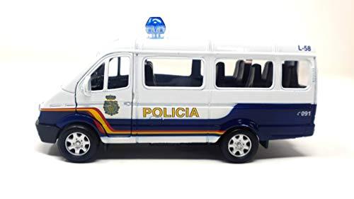 PLAYJOCS GT-8033 Furgoneta Policía Nacional Modelo clásico