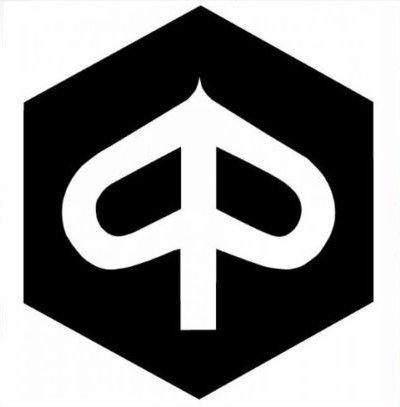 Aufkleber wählbar Adhesivo Sticker sluitzegel Piaggio-Logo, Auto, Motorrad, Helm 11cm Aufkleber Autocollant