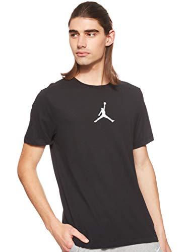 Nike M J Jumpman Dfct Ss Crew T-shirt, Uomo, black/white, S