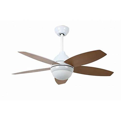 Bastilipo 7791-Bali Blanco LED Bali Ventilador de Techo Mando a Distancia y Palas Reversibles