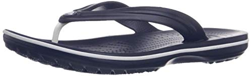 Crocs Crocband Flip Flop, Navy, 12 US Women / 10 US Men