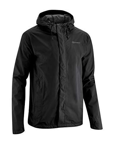 Gonso Erwachsene Save Light Bike Jacket Men, Black, 4XL