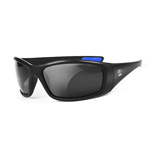 Floating Sunglasses with Polarized Lenses- Ideal for Fishing, Boating, Kayaking, Paddling and More (Black Matte)