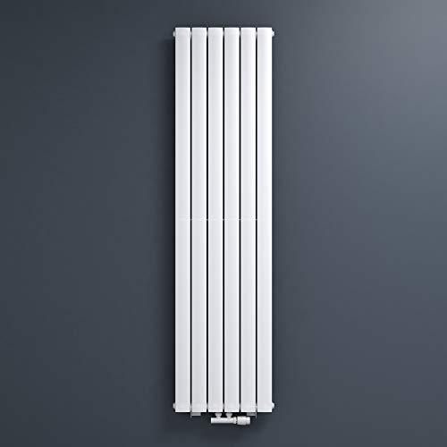 Mai & Mai radiador plano 180x46cm en panel blanco radiador vertical fabricado en acero