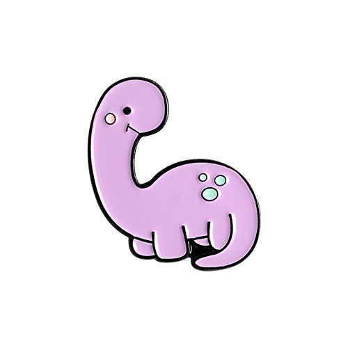 Pin De Esmalte De Parque De Dinosaurios, Insignia De Animal Bonito Personalizado, Broches De Tiranosaurio, Bolsa, Ropa, Pin De Solapa, Joyería De Moda, Regalo Para Niños