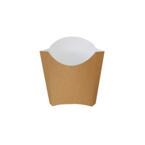 Extiff Paquete de 200 Bolsillos Conos de cartón Reciclado (165 gr)