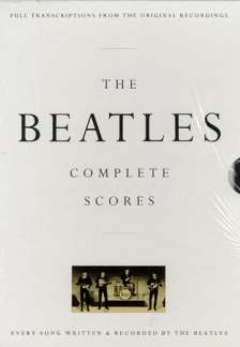 COMPLETE SCORES - arrangiert für Gesang und andere Besetzung - Gitarre - E-Bass - Schlagzeug [Noten / Sheetmusic] Komponist: BEATLES