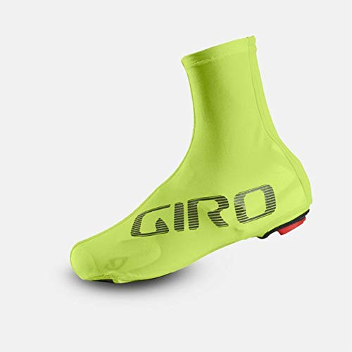 Giro Herren Ultralight Aero Shoe Cover Fahrradbekleidung, Highlight Yellow/Black, S (36-39)