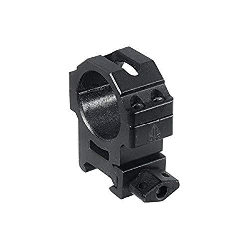 UTG 30mm/2PCs Med Pro Max Strength Picatinny Rings,22mm Wide , Black