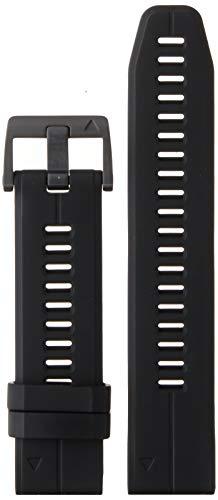 Garmin 010-12740-00 Quickfit 22 Watch Band - black Silicone - Accessory Band for Fenix 5 Plus/Fenix 5