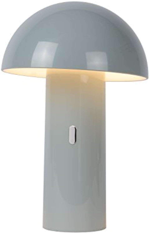 Lucide FUNGO Tischlampe, Kunststoff, 0 W, Grau
