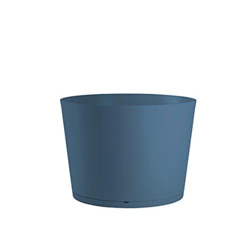 GROSFILLEX 19341680 Bac à Plantes Tokyo Diamètre 50, Bleu Denim, 47, 5 x 33, 3 cm