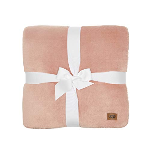 UGG Whitecap Plush Flannel - Oversized Throw Blanket, Quartz