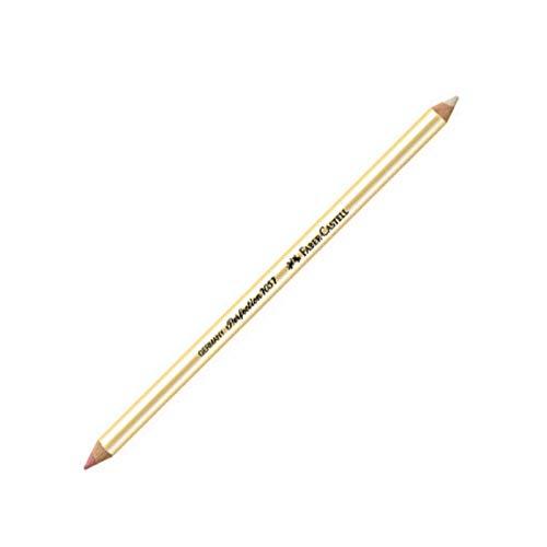 Faber-Castell–Lote de 3lápices borrador Perfection 7057doble punta.