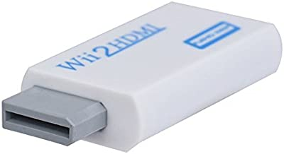 TechFlo Wii to HDMI Adapter White