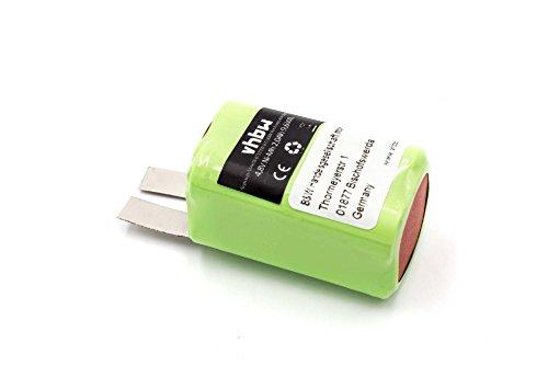Batería vhbw 2000mAh (4.8V) para herramietnas Makita 6722DW, 6723DW sustituye TL00000012.