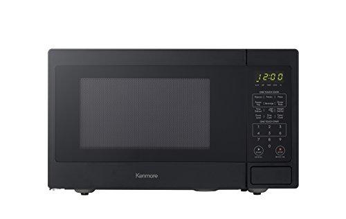Kenmore Black 70919 Countertop Microwave, 0.9 cu. ft