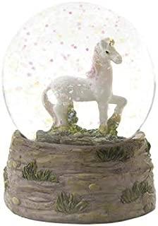 Dragon Crest 10018598 Prancing Unicorn Snow Globe Multicolor