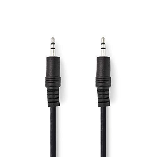 TronicXL 2m Aux Anschluss Kabel Stereo Audiokabel 3,5mm Stecker 3,5 Klinke Klinkenkabel HiFi für Mhtech Wireless Bluetooth Lautsprecher Bang & Olufsen B&O Beoplay A1 S3 Beolit 15 12 Verbindungskabel