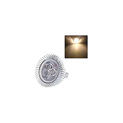 Gmasuber XIE@ 3 1 W MR16 12 V blanco cálido bombilla LED bombilla