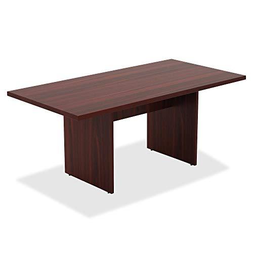 Lorell Chateau Conference Table, Mahogany Laminate