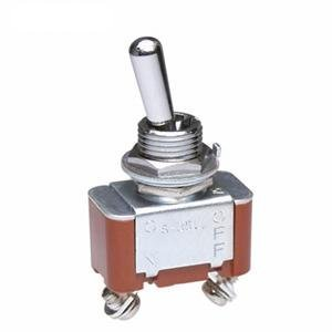 Toggle Switches SPST ON-OFF Branded A surprise price is realized goods MED pieces 5 HIGH SCREW LUG