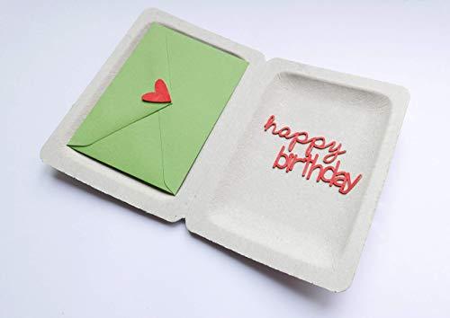 Geburtstag Glückwunsch Geldgeschenk Box happy birthday