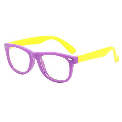 Zhantie Kids Online Class Anti-Blue Gafas de protección profesional para los ojos de los niños con bloqueo de luz azul
