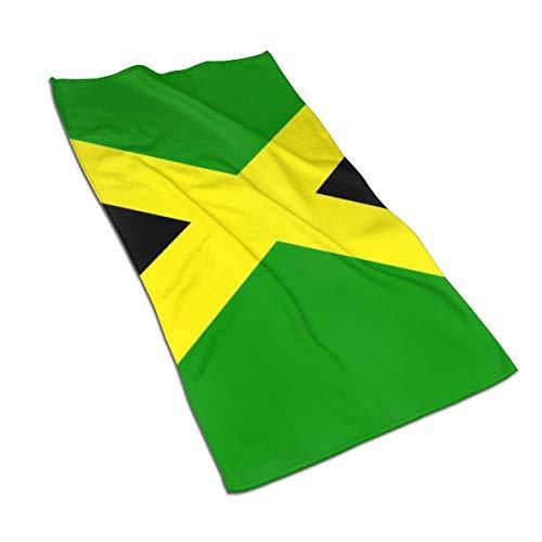Toalla Bandera de Jamaica Toalla de Mano Toalla de baño Toalla de baño Absorbente Suave Plato de Cocina Toalla de Invitados Decoraciones de baño para el hogar