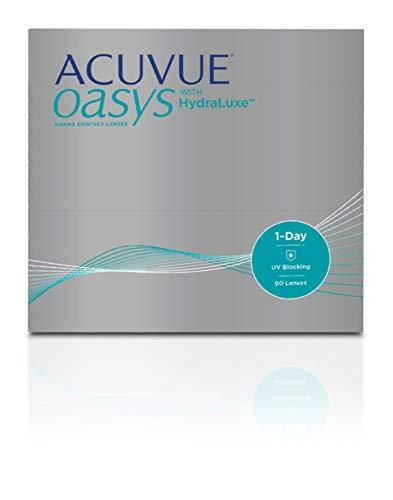 ACUVUE® OASYS 1-DAY con tecnología HydraLuxe™ - Lenti Giornaliere - protezione UV - 90 lenti