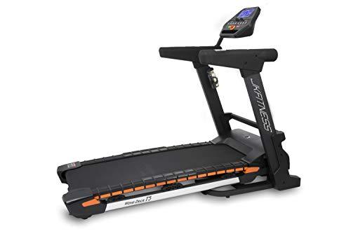 JK Fitness Tapis roulant T5 Wave Deck, Piano Corsa Iper AMMORTIZZATO' Novita' Mondiale