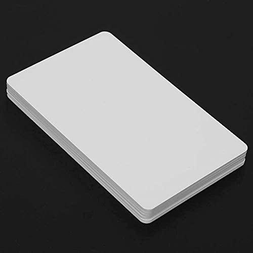 Yuyanshop tarjeta de acceso 13.56MHZ, tarjeta blanca de IC, oficina plástica de la carretera de la escuela casera