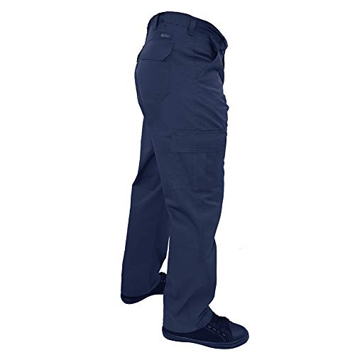 Lee Cooper Workwear Cargo Pant, 40R, marine, LCPNT205 - 5
