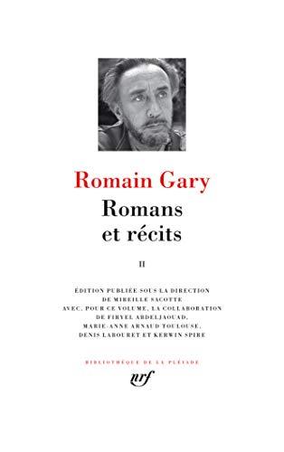 Romans et récits (Tome 2)
