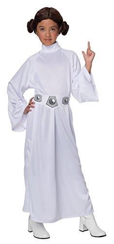 Disfraz de Princesa Leia Tamaño Mediano 5-7 Años