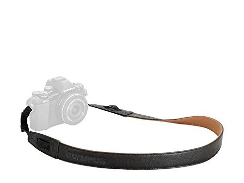 Olympus CSS-S119L - Correa para cámara M10 Mark-II, Color Negro