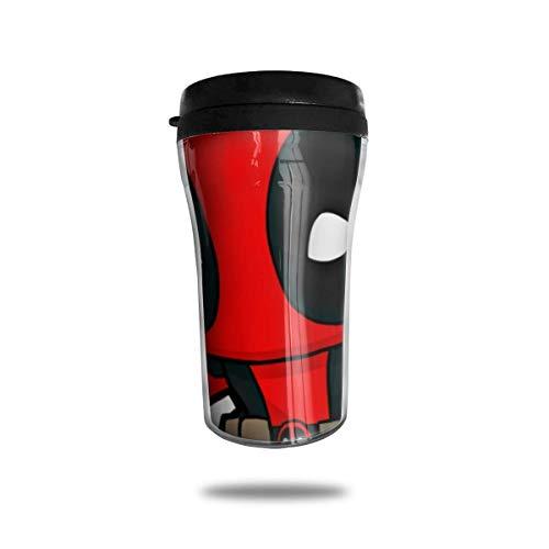 DEA-dpool - Taza de café con aislamiento de doble pared, mini taza de viaje para coche, botella de agua