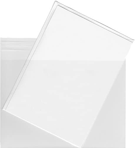 A6 Clear Mail order Plastic Envelope Bags - Max 83% OFF 200 Envelopes for Sleeves 4