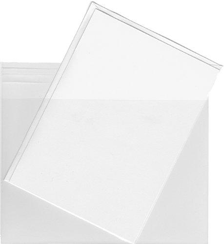 Klar Kunststoff Umschlag Taschen, A2(57/20,3cm X 41/5,1cm)–200Umschlag Staubbeutel