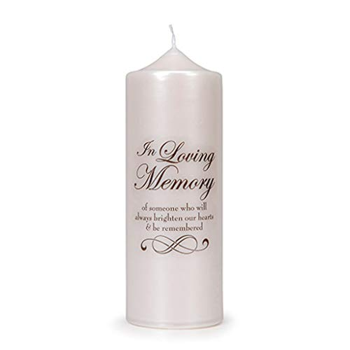Darice 9 Memory Devotional Candle or Vase Decal Stickers Wedding Church