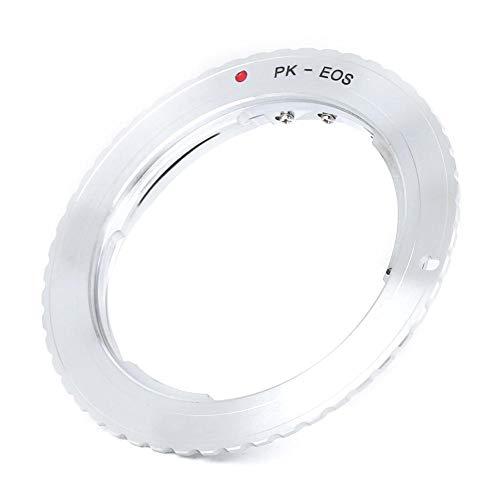 Sxhlseller Anillo Adaptador de Lente, PK-EOS Anillo Duradero de Aleación de Aluminio...