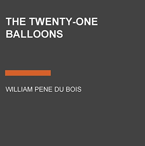 The Twenty-One Balloons audiobook cover art
