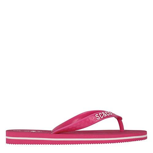 SoulCal Kinder Maui Flip Flops Badeschuhe Zehentrenner Rosa 33 EU