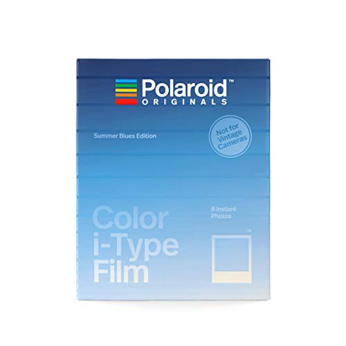 Polaroid Originals Film couleur i-Type Summer Bleu