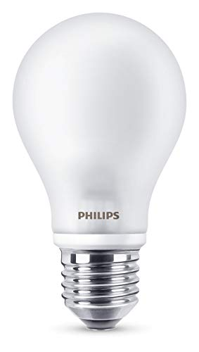 Philips Bombilla LED E27, 7 W equivalentes a 60 W en incandescencia, l