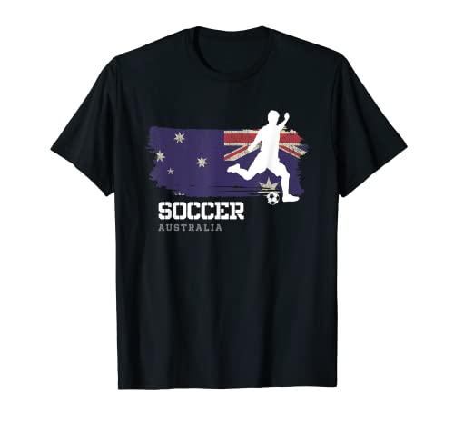 Fútbol Australia bandera Equipo de fútbol jugador Camiseta