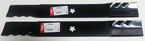 Gator 2 Mulcher 3-in-1 Blades - Compatible with: 134149, 138971 Blade. Craftsman, AYP (Set of 2)
