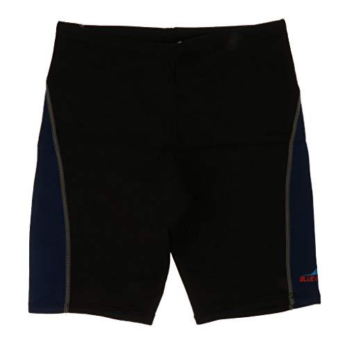Tubayia Unisex UV-Schutz Neoprenhose Kurze Neopren Pants Neoprenanzug Shorts Hosen für Schnorcheln Tauchen Surfen